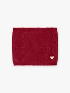 Scaldacollo ribes con stemma cuore bambina BLOLOETTE / 21H4PFD1SNOD302