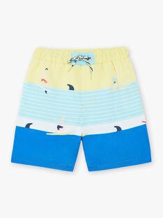 Shorts mare gialli bambino ZYMAILLAGE / 21E4PGR6MAI102