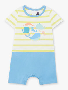 Tuta bianca e blu neonato ZUABOAT / 21E1BGQ1CBL617