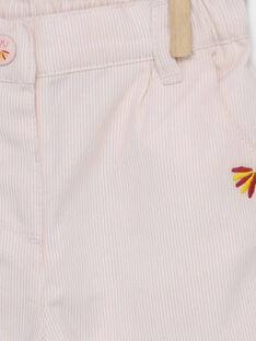 Pantaloni rosa RAFLORINE / 19E1BFC1PAND300