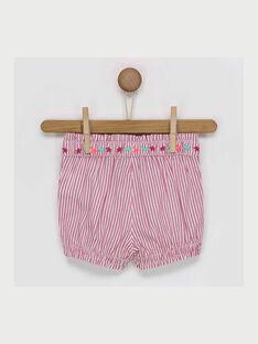 Shorts rosa RAVIRGINIE / 19E1BFQ1SHOD302