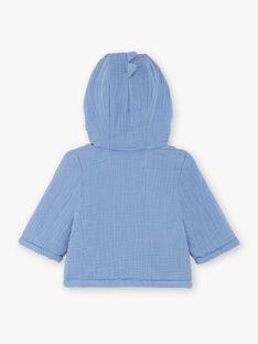 Giacca con cappuccio blu neonato ZOUHIR / 21E0CGG1VESC203