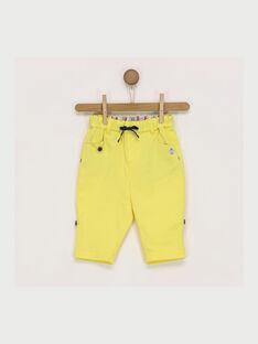Pantaloni gialli RAEDMONT / 19E1BGC1PAN412