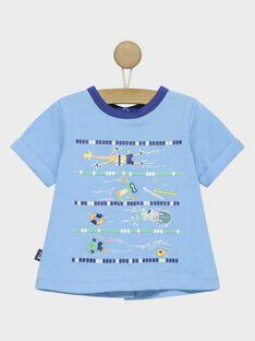 T-shirt maniche corte blu RAUMEO / 19E1BGP1TMC205