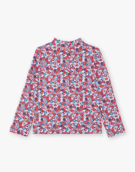T-shirt anti-UV bambina ZAIJUETTE / 21E4PFR1TUV020