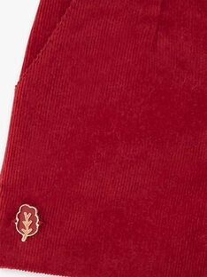 Red SHORTS VYCHETTE / 20H2PFR1SHOF529