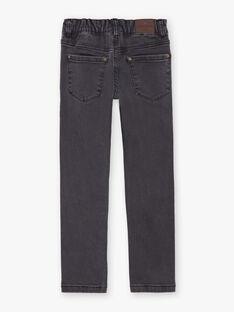 Jeans denim neri tinta unita bambino BUXTIAGE1 / 21H3PGB4JEA927