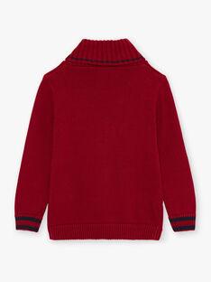 Maglia maniche lunghe rossa bambino BEBAGE / 21H3PG51PUL503