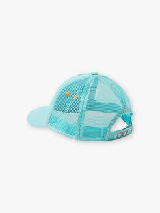 Cappellino turchese bambino ZOCAPAGE / 21E4PGU1CHA202