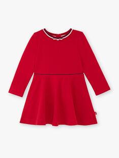 Abito rosso bambina ZLOMETTE4 / 21E2PFK5ROB719