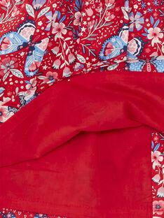 Abito rosso neonata ZAFANCHON / 21E1BFB1ROB050