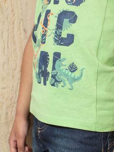 Canottiera verde e blu bambino TUNALAGE / 20E3PGX1DEBG628