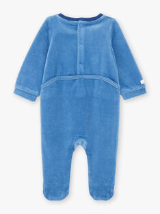 Tutina blu motivo zebra neonato BEALVIN / 21H5BG64GRE208