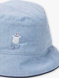 Cappello in jeans neonato ZAOTMAN / 21E4BGT2CHAP265