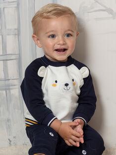 Completo maglia e pantaloni motivo orsetto neonato BAFELIPE / 21H1BG51ENS070