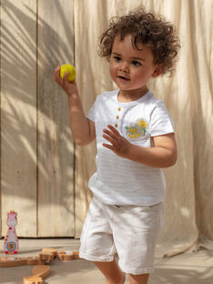Bermuda neonato beige TARADEK / 20E1BGQ1BER806