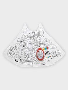 Uovo in metallo con mantella in jersey motivo lupo TULOUAGE / 20E3PGU2CPO000