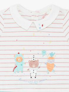 Tutina ecrù e blu neonato ZEDAMA / 21E5BG23GRE001