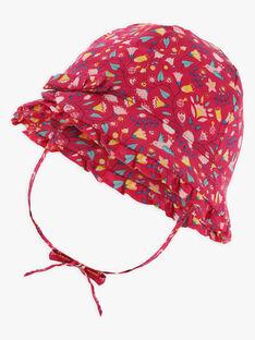 Cappello con stampa a fiori neonata TASILOA / 20E4BFQ1CHAF510