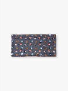 Scaldacollo grigio scuro stampa animale della foresta bambino BIBRAGE / 21H4PGJ1SNOI808
