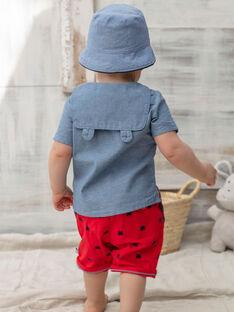 Camicia in jeans neonato ZAORSON / 21E1BGT1CHMP265