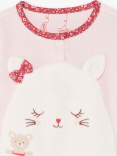 Tutina rosa e bianca neonata BEBIBOU / 21H5BF65GRED327