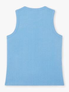 Canottiera blu bambino ZODIAGE / 21E3PGU1DEB320