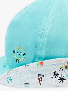 Cappello turchese neonato ZATANGUY / 21E4BGU1CHA202